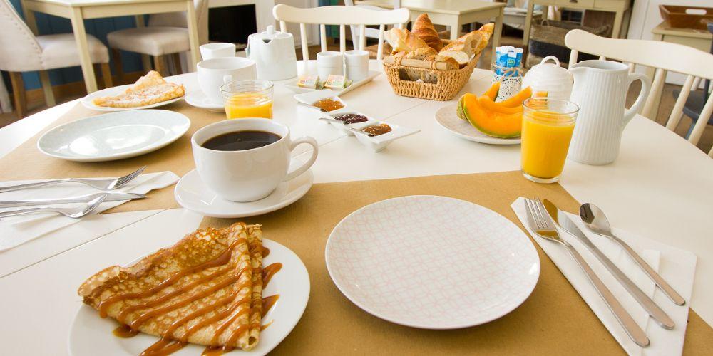Petit-déjeuner Casa Cosy